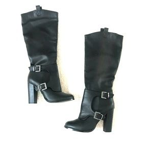 Charlotte Russe Black Boots gently used